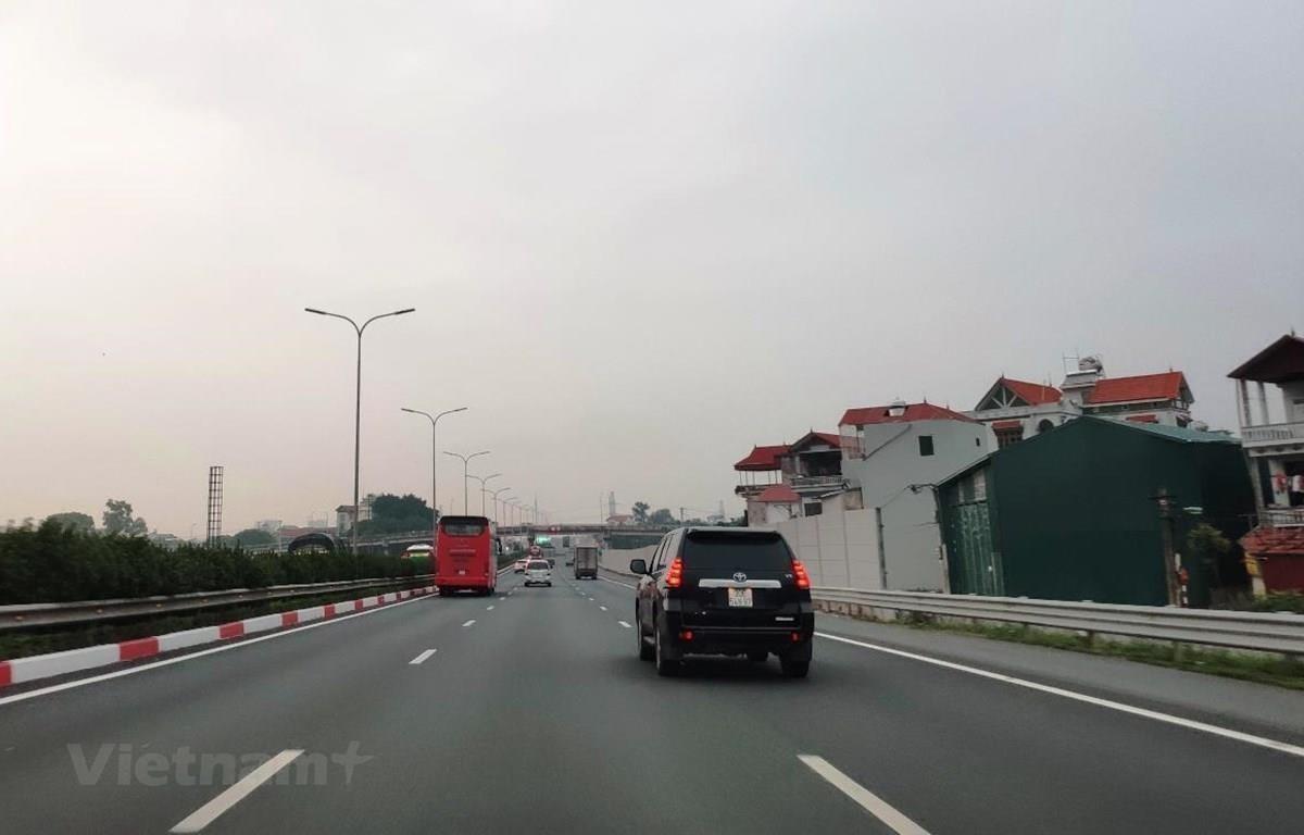 Dự án đường cao tốc Bắc-Nam đã thu hút được nhiều nhà đầu tư nội tham gia sơ tuyển. (Ảnh: Việt Hùng/Vietnam+)