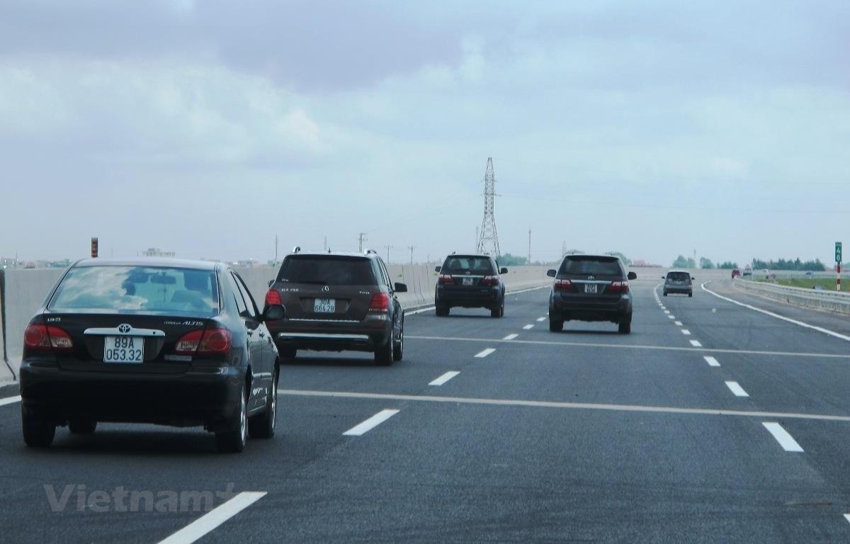 Dự án đường cao tốc Bắc-Nam đã chính thức được Quốc hội thông qua điều chỉnh chủ trương đầu tư một số đoạn tuyến. (Ảnh: Việt Hùng/Vietnam+)