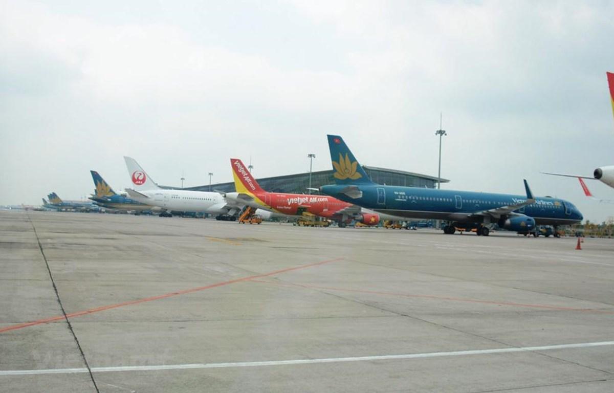 Đường bay Hà Nội-Thành phố Hồ Chí Minh sẽ điều phối theo nguyên tắc 5 phút chỉ có tối đa 1 chuyến bay. (Ảnh: Việt Hùng/Vietnam+)