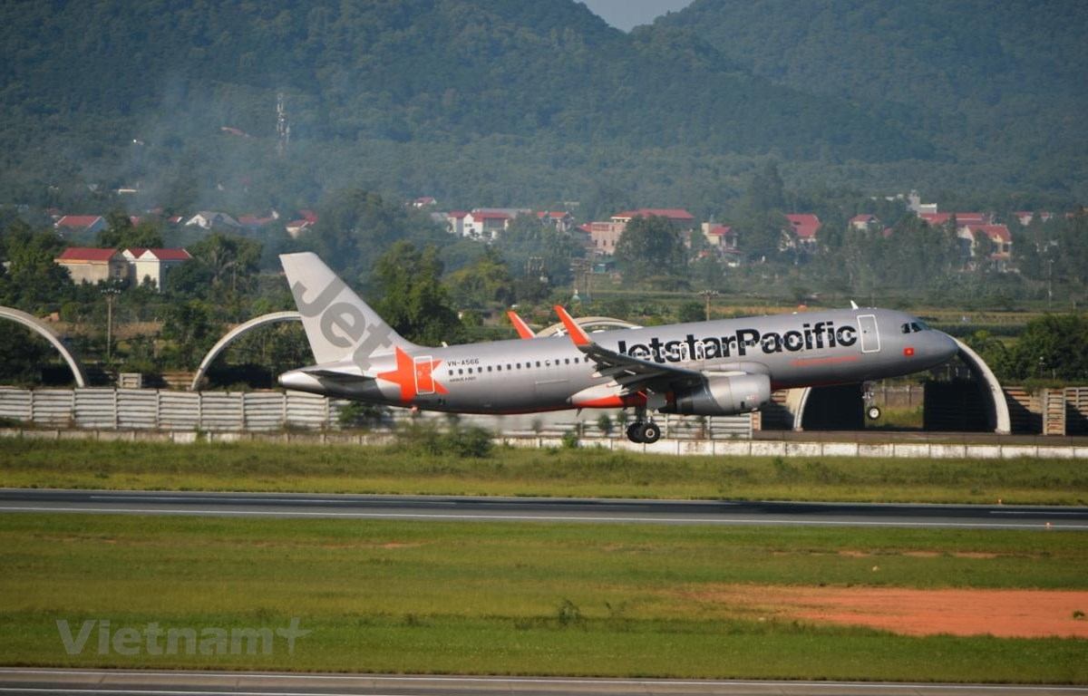 Jetstar Pacific Airlines (mới đổi tên thành Pacific Airlines) đang tiến hành các bước chuyển đổi hệ thống đặt chỗ. (Ảnh: Hoàng Anh/Vietnam+)