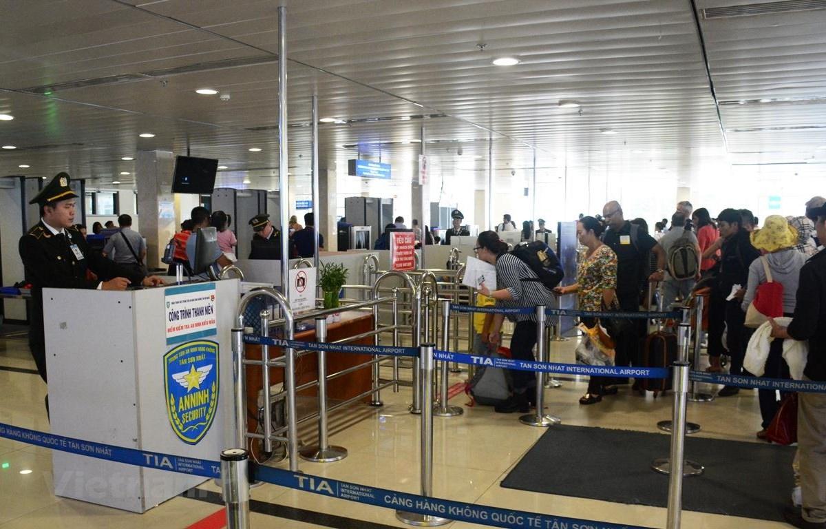 Một hành khách bị cấm bay 1 tháng do vi phạm quy định về an ninh hàng không. (Ảnh minh họa: Việt Hùng/Vietnam+)