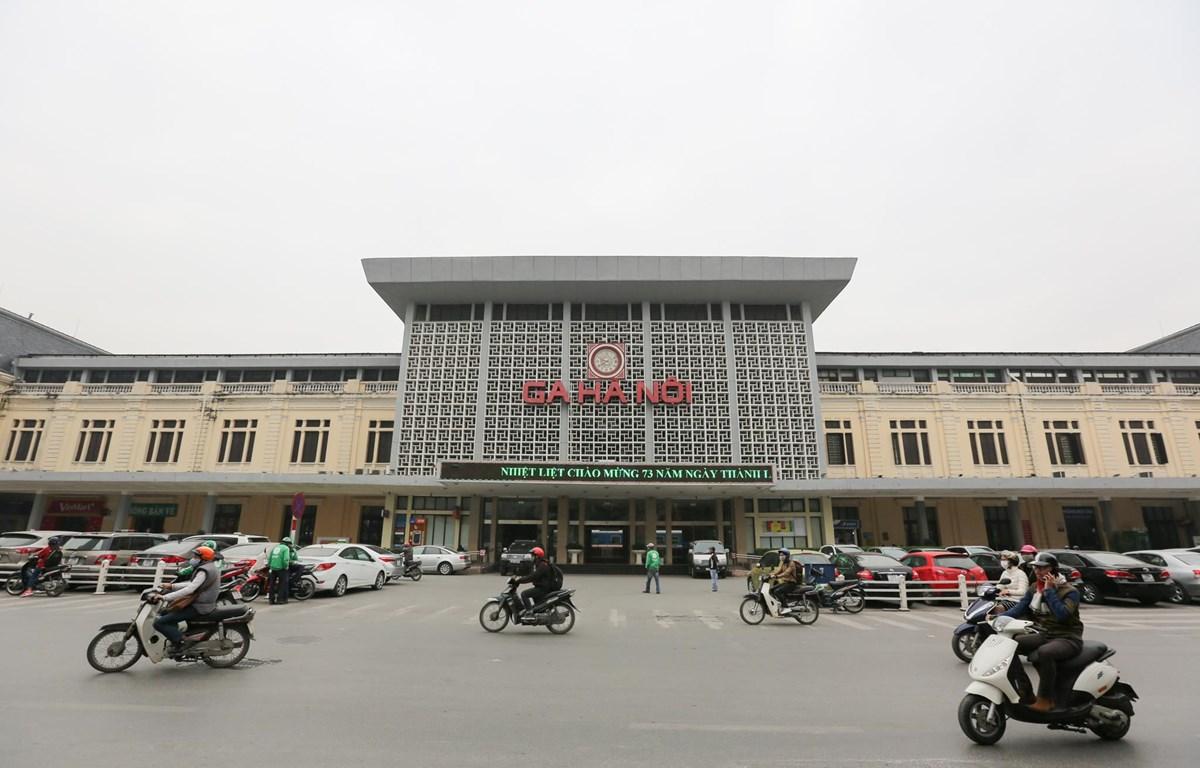 Ga Hà Nội nếu được xã hội hóa sẽ thu hút nhiều nhà đầu tư tham gia. (Ảnh: Minh Sơn/Vietnam+)