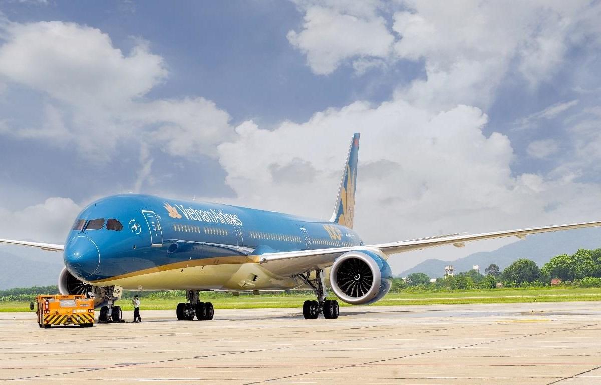 Vietnam Airlines đã khôi phục nhiều đường bay nội địa do dịch COVID-19 được kiểm soát tốt thời gian vừa qua. (Ảnh:CTV/Vietnam+)