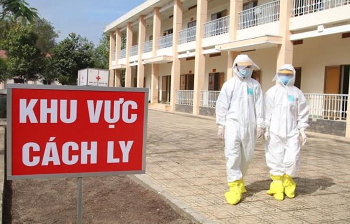 Khu vực cách ly y tế riêng biệt cho công dân Việt Nam từ nước ngoài về nước để phòng chống dịch COVID-19. (Ảnh: TTXVN)