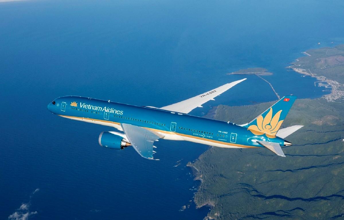 Vietnam Airlines dự kiến phục hồi doanh thu và có lãi từ năm 2023 và hết lỗ lũy kế vào năm 2025. (Ảnh: CTV/Vietnam+)