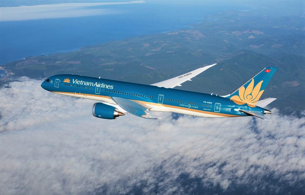 Máy bay của hãng hàng không Vietnam Airlines. (Ảnh:CTV/Vietnam+)