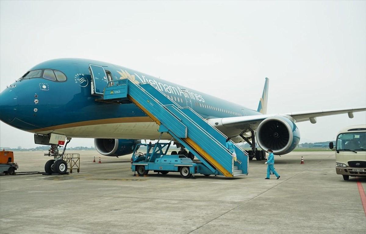 Vietnam Airlines và các đơn vị thành viên ưu tiên bố trí tối đa nguồn lực để đầu tư dịch vụ sân bay Long Thành. (Ảnh: CTV/Vietnam+)