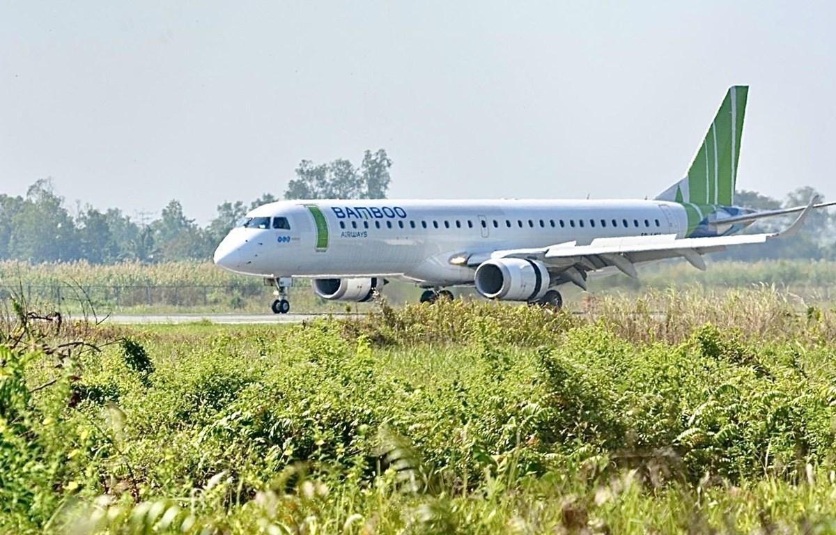 Dòng tàu bay phản lực Embraer E190/195 và Airbus A320/A321 sẽ được sử dụng để khai thác các đường bay mới đi/đến Cần Thơ. (Ảnh: CTV/Vietnam+)