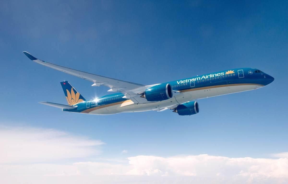 Tàu bay thân rộng thế hệ mới nhất của hãng hàng không Vietnam Airlines được sử dụng đường bay Hà Nội-Thành phố Hồ Chí Minh. (Ảnh: CTV/Vietnam+)