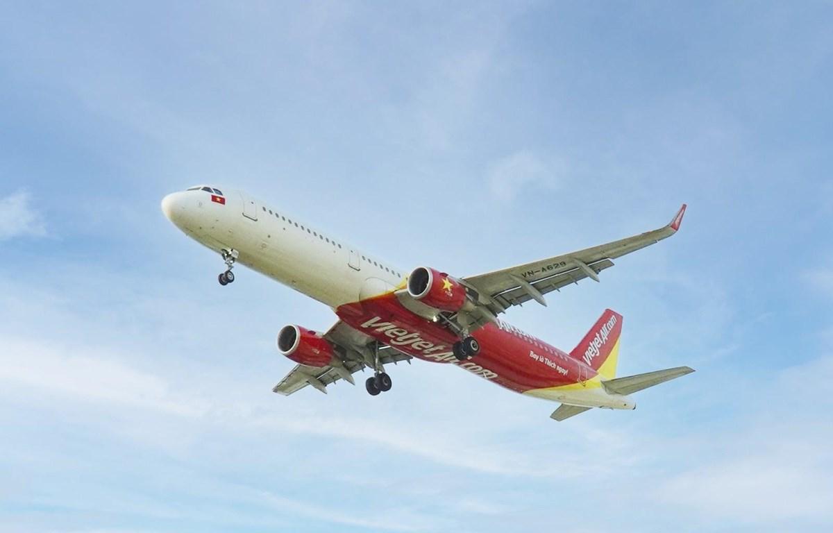 Vietjet Air mở đồng loạt 5 đường bay tới Phú Quốc. (Ảnh: CTV/Vietnam+)