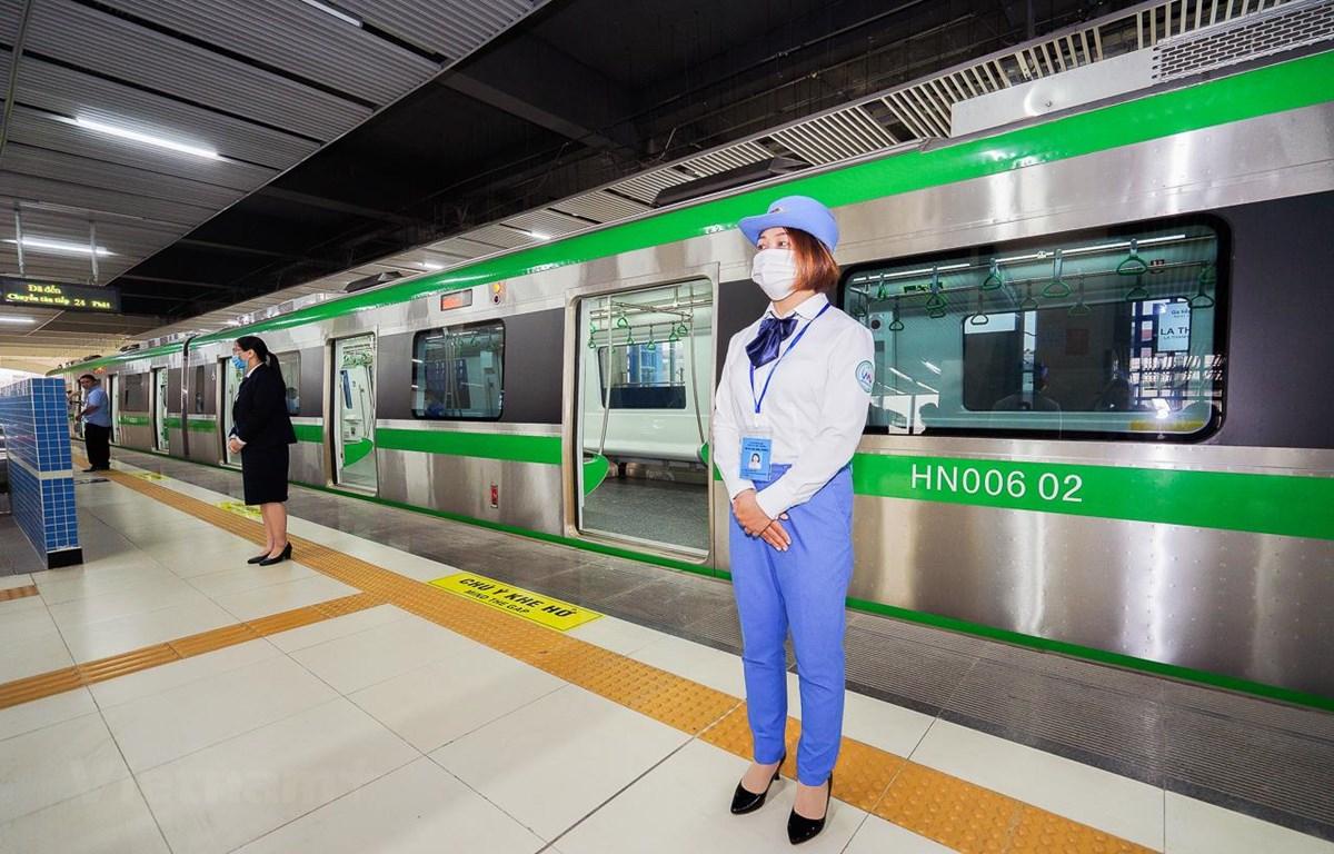 Đường sắt đô thị Cát Linh-Hà Đông tổ chức đợt tuyển dụng bổ sung nhân lực cuối cùng. (Ảnh: Việt Hùng/Vietnam+)