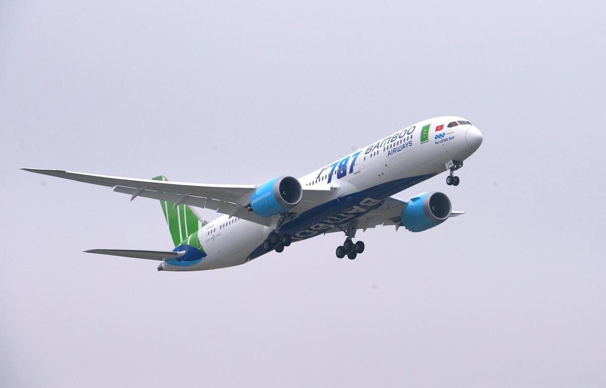 Được sân bay Mỹ cấp slot không đồng nghĩa với việc hàng không Việt đã có thể bay thẳng đến Mỹ, do vẫn còn nhiều thủ tục phải hoàn thiện. (Ảnh: CTV/Vietnam+)
