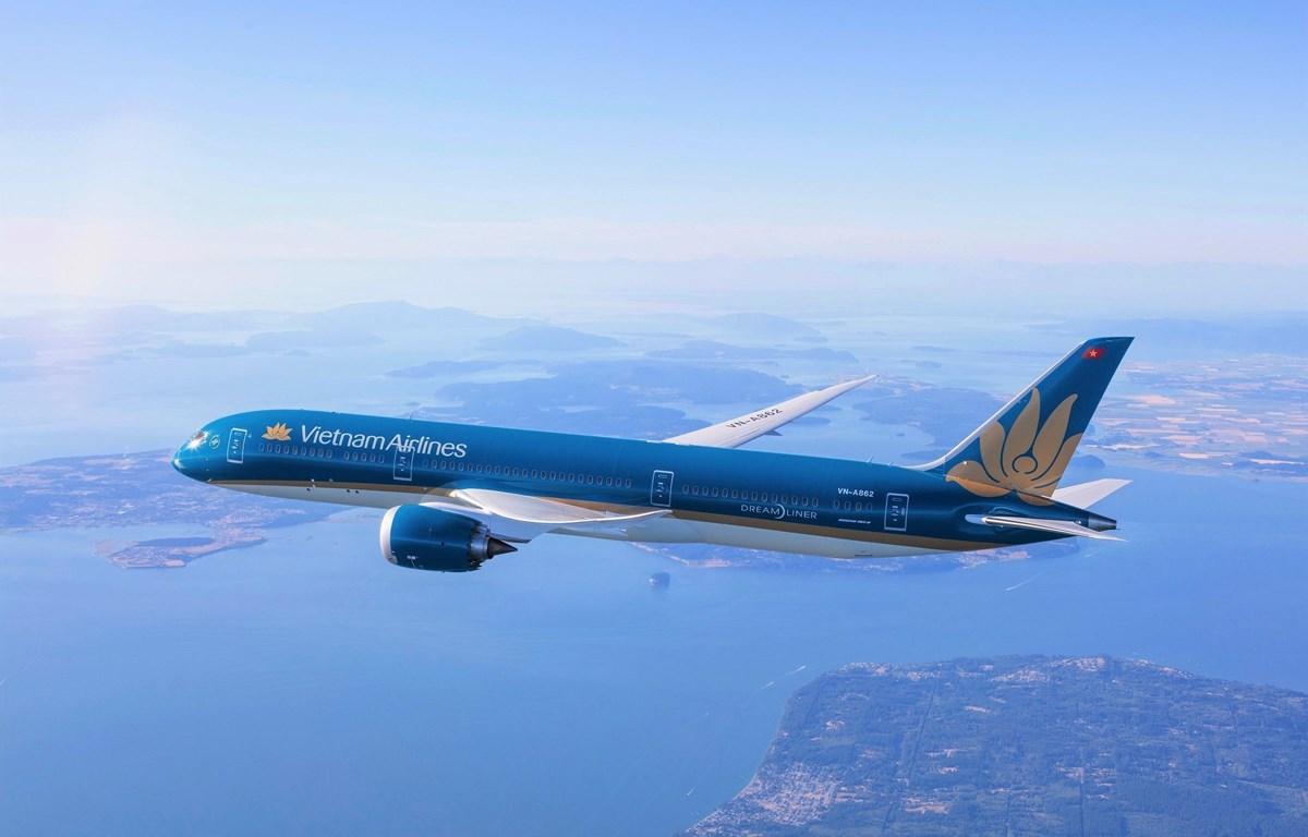 Vietnam Airlines sẽ bố trí sử dụng các tàu bay thân rộng hiện đại nhất như Boeing 787 để bay tới Canada. (Ảnh: CTV/Vietnam+)