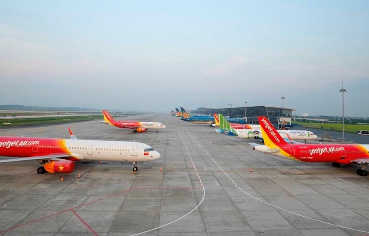 Một số đường bay nội địa sẽ được khai thác từ ngày 10/10 tới. (Ảnh: CTV/Vietnam+)
