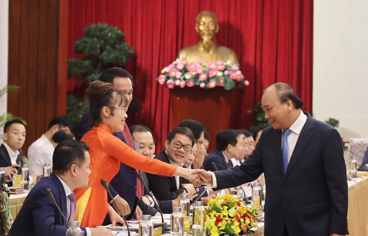 Doanh nhân Việt Nam lớn mạnh và thể hiện bản lĩnh Việt Nam trên trường quốc tế, góp phần phát triển kinh tế đất nước. (Ảnh: CTV/Vietnam+)