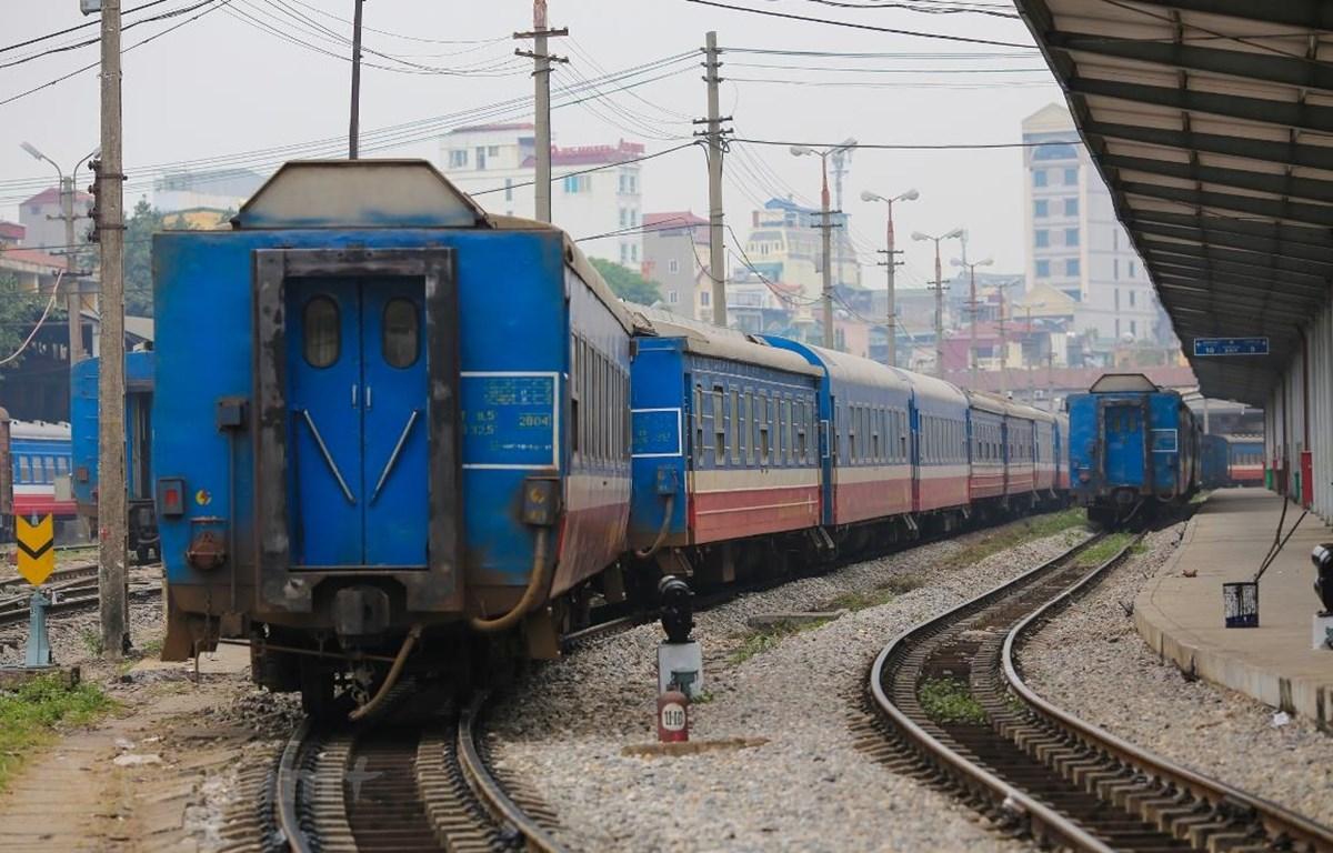 Nhu cầu vốn đến năm 2030 để phát triển kết cấu hạ tầng đường sắt khoảng 240.000 tỷ đồng. (Ảnh: Minh Sơn/Vietnam+)
