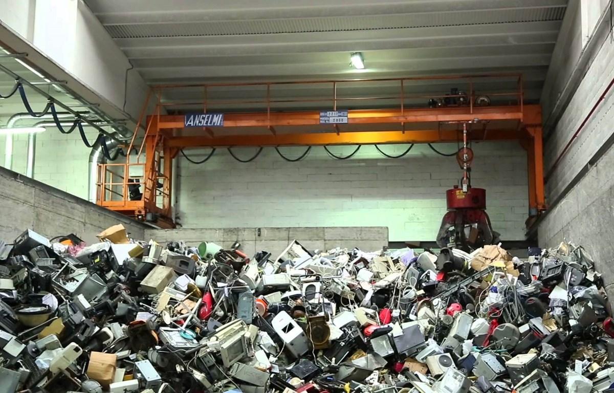 Rác thải điện tử là lượng rác thải đang gia tăng nhanh nhất trên thế giới hiện nay. (Nguồn: recupel.be)