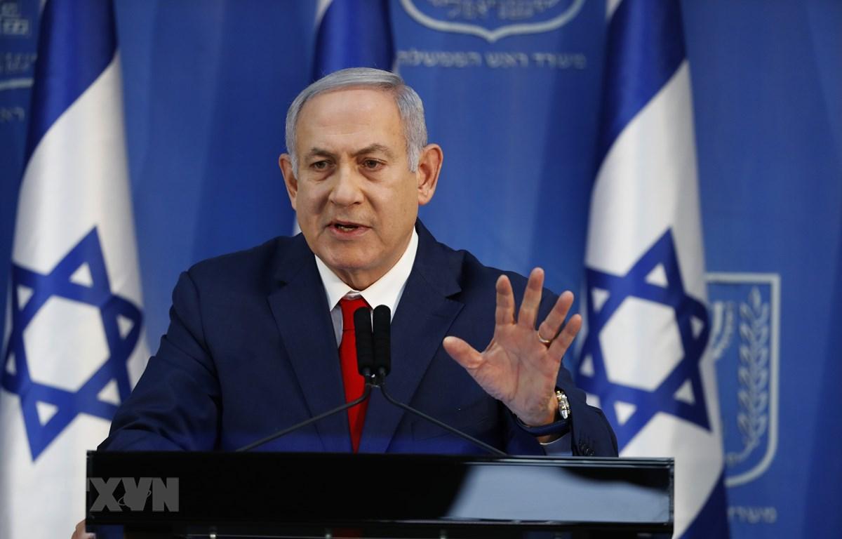 Thủ tướng Israel Benjamin Netanyahu. (Nguồn: AFP/TTXVN)