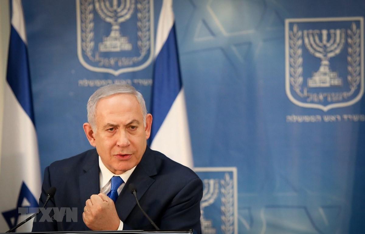 Thủ tướng Benjamin Netanyahu. (Ảnh: THX/TTXVN)