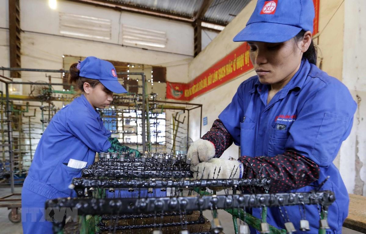 Các doanh nghiệp Nhật Bản đánh giá cao môi trường đầu tư kinh doanh của Việt Nam cũng như sự ổn định về chính trị, xã hội. (Ảnh: Trần Việt/TTXVN)