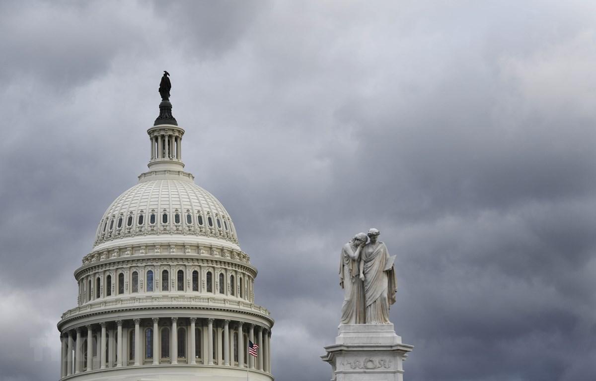 Tòa nhà Quốc hội Mỹ tại Washington D.C., ngày 24/1/2019. (Ảnh: THX/TTXVN)