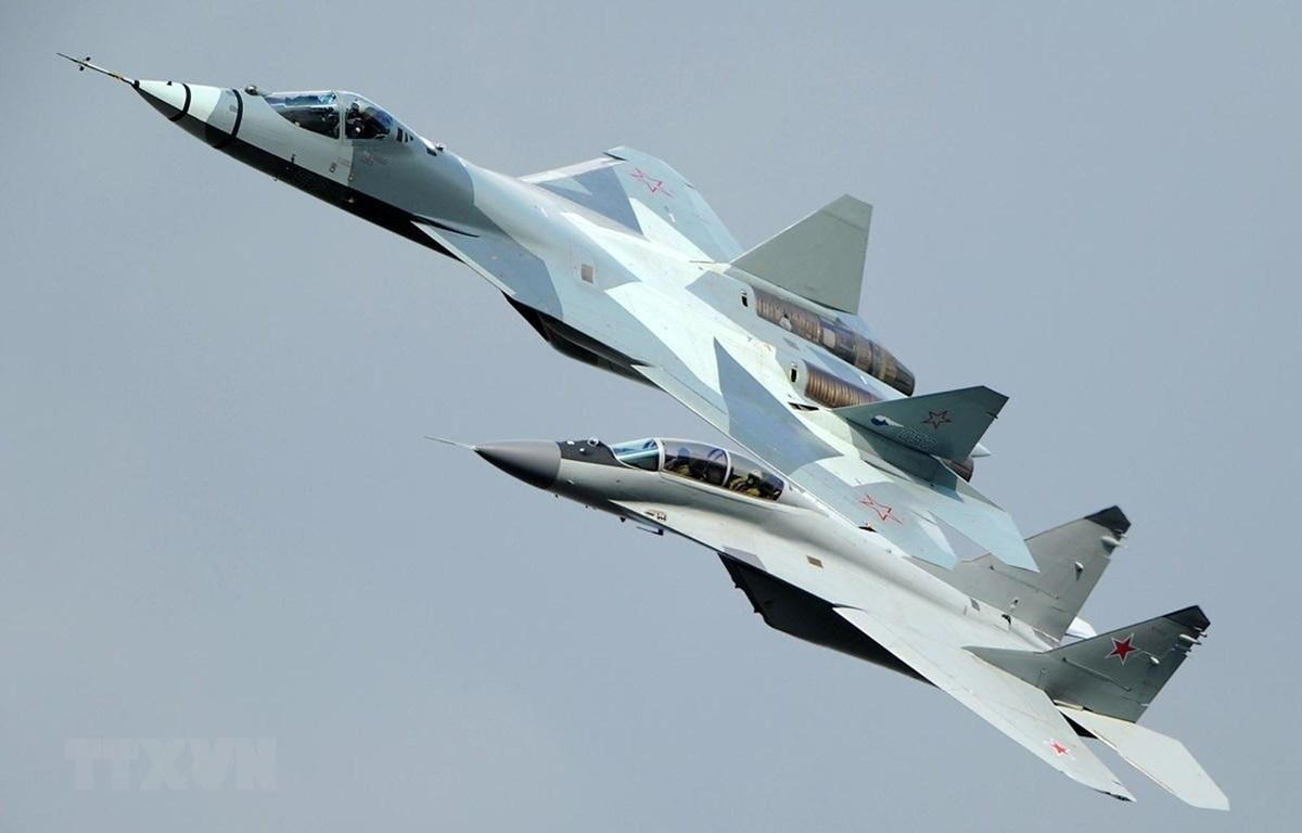 Máy bay Su-57 của Nga. (Ảnh: National Interest/TTXVN)