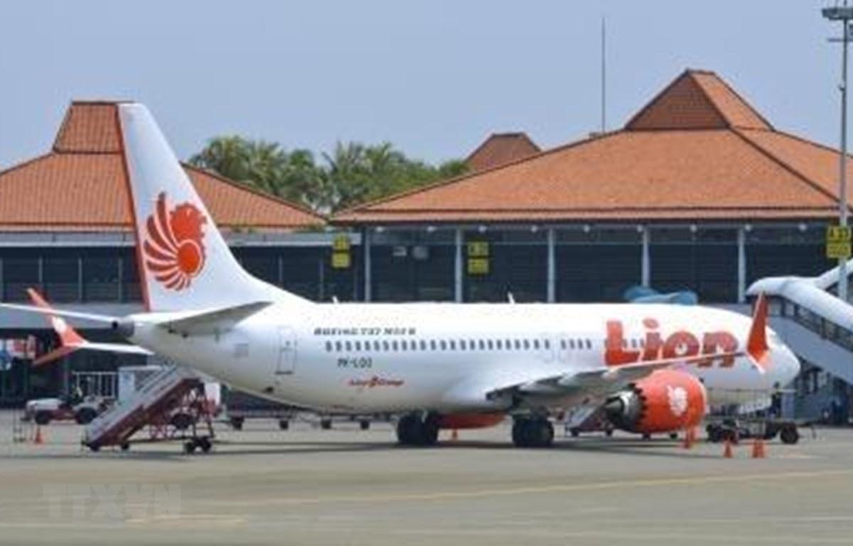 Máy bay Boeing 737 MAX 8 của Hãng hàng không Lion Air tại sân bay Jakarta, Indonesia. (Ảnh: AFP/TTXVN)