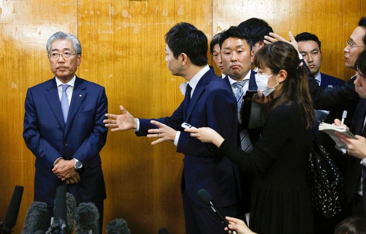 Chủ tịch Ủy ban Olympic Nhật Bản Tsunekazu Takeda bác bỏ mọi cáo buộc hối lộ. (Nguồn: washingtonpost.com)