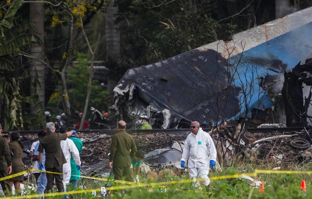 Hiện trường vụ tai nạn máy bay kinh hoàng hôm 18/5/2018 tại thủ đô La Habana. (Nguồn: AP)