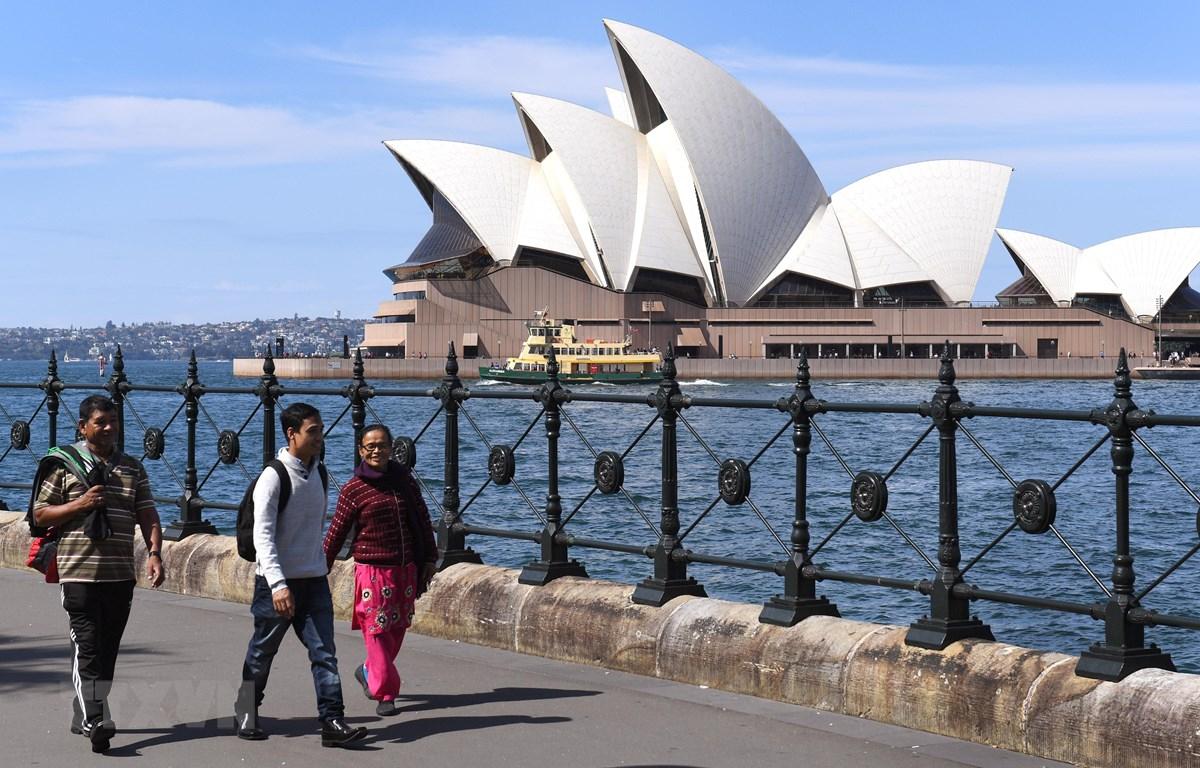 Nhà hát con sò tại Sydney, Australia. (Ảnh: AFP/TTXVN)