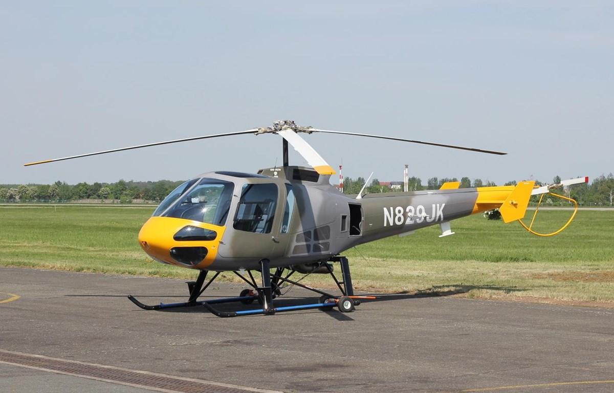 Máy bay trực thăng huấn luyện Enstrom 480 của CH Séc. (Nguồn: jetphotos.com)