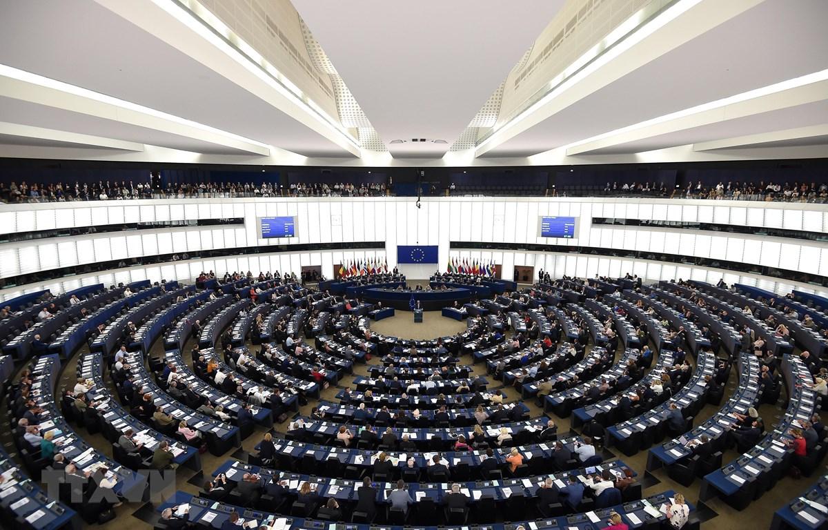 Toàn cảnh phiên họp Nghị viện châu Âu ở Strasbourg, miền đông nước Pháp ngày 12/9/2018. (Ảnh: AFP/TTXVN)