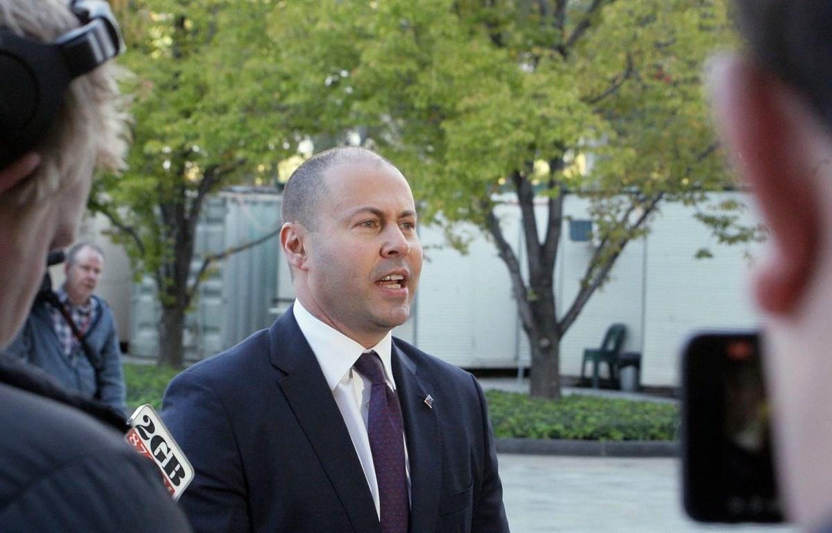 Bộ trưởng Tài chính Australia Josh Frydenberg. (Nguồn: Associated Press)