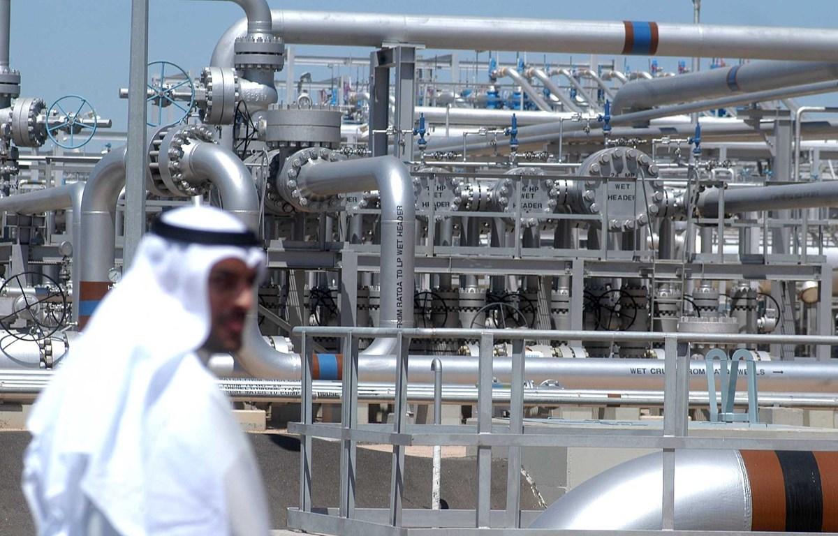 Một cơ sở lọc dầu ở Al-Rawdhatain, Kuwait. (Ảnh: AFP/TTXVN)
