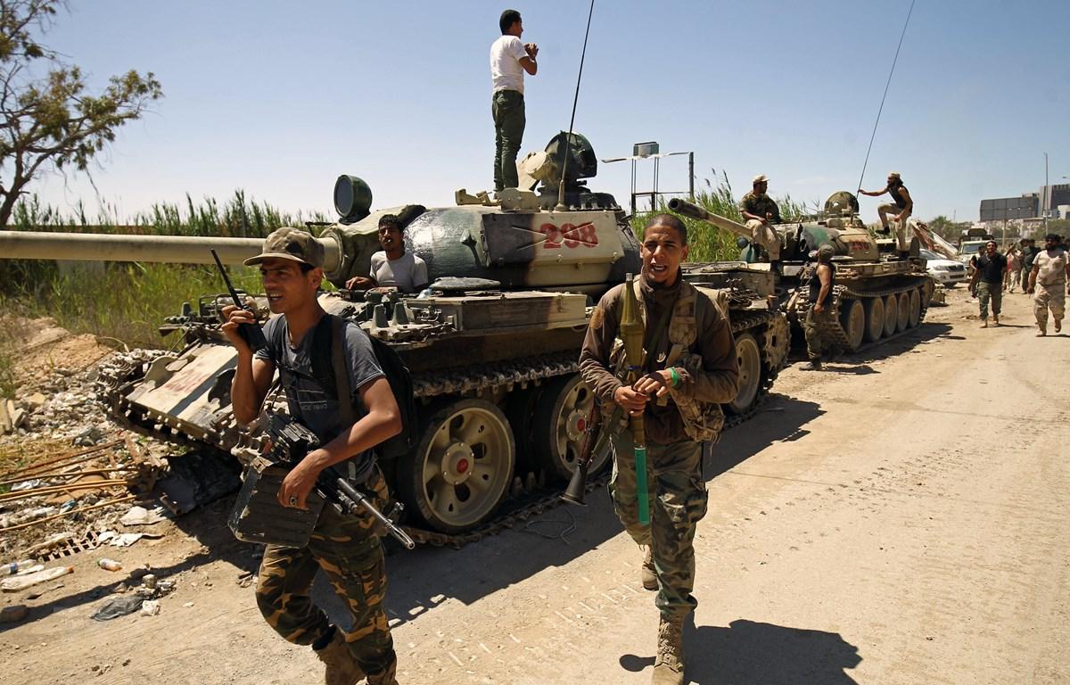 Lực lượng LNA do tướng Khalifa Haftar chỉ huy. (Ảnh: AFP/TTXVN)