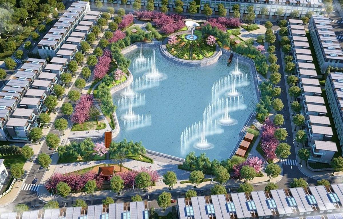 Dự án TMS Grand City Phuc Yen được xây dựng theo phong cách Nhật Bản. (Ảnh: PV/Vietnam+)