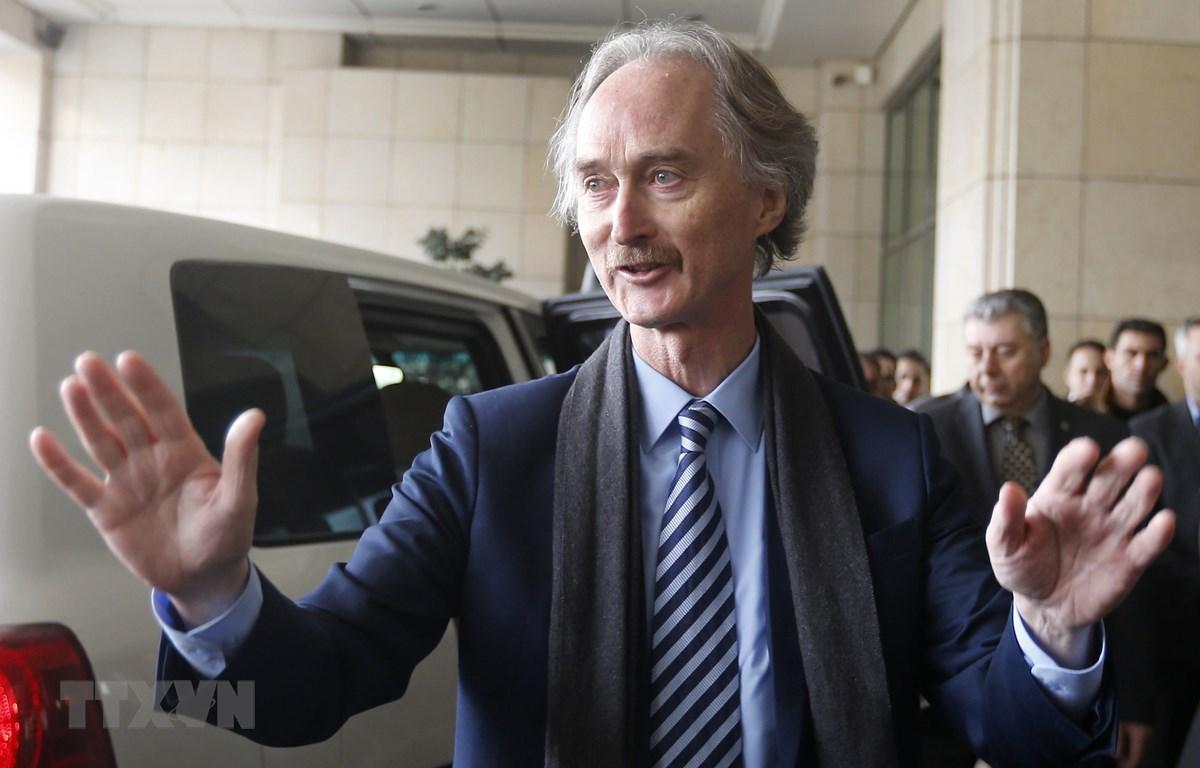 Đặc phái viên về Syria của Liên hợp quốc Geir Pedersen. (Nguồn:  AFP/TTXVN)