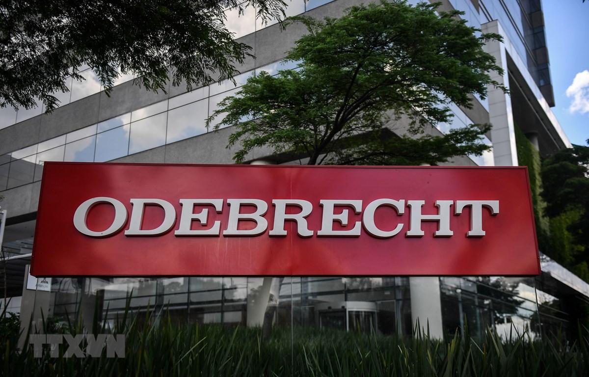 Trụ sở tập đoàn Odebrecht tại Sao Paulo, Brazil ngày 4/12/2018. (Ảnh: AFP/ TTXVN)