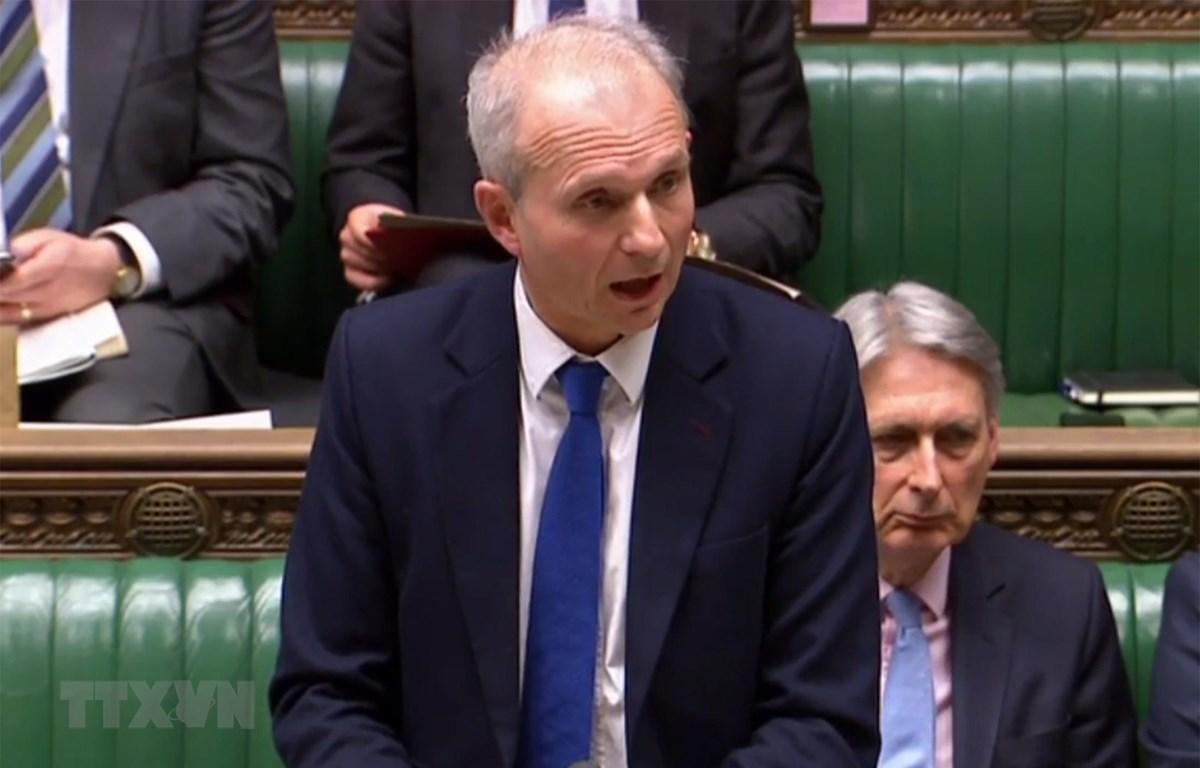 Phó Thủ tướng Anh David Lidington khẳng định London tham gia các cuộc bầu cử EP. (Ảnh: AFP/TTXVN)