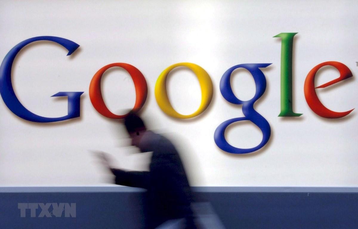 Biểu tượng Google. (Ảnh: EPA/ TTXVN)