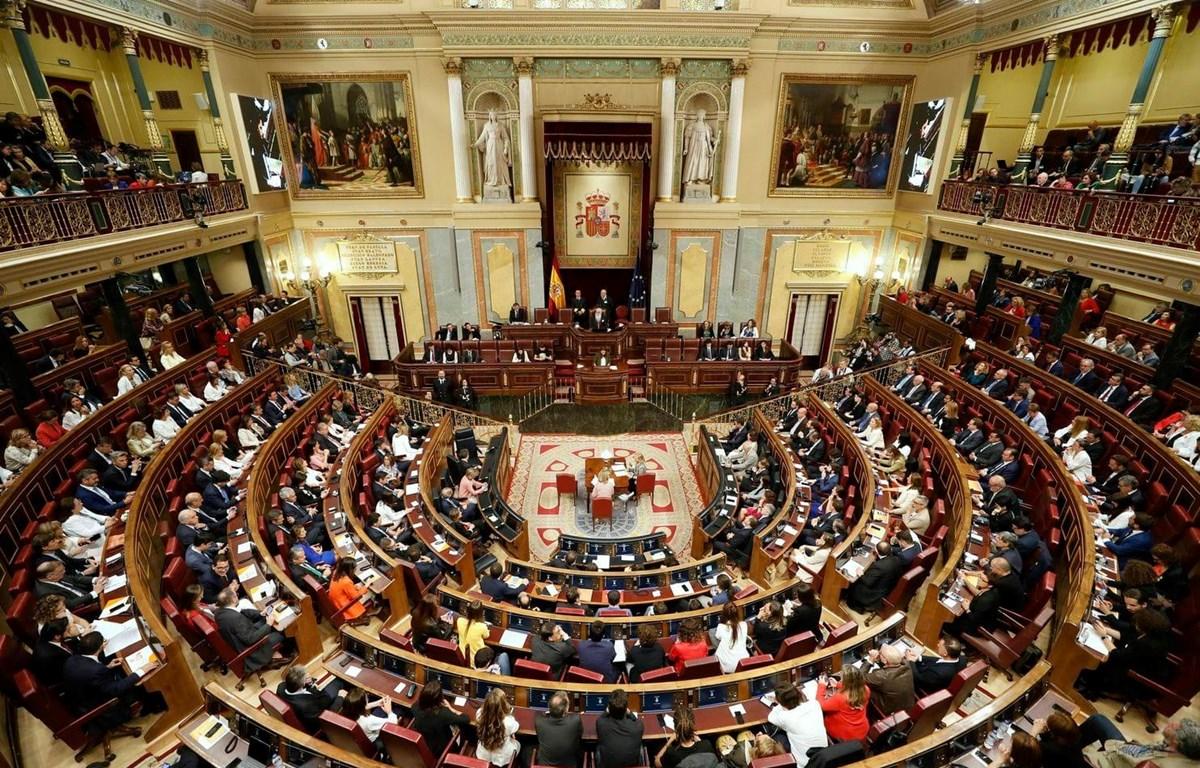 Một phiên họp Quốc hội Tây Ban Nha. (Nguồn: AP)