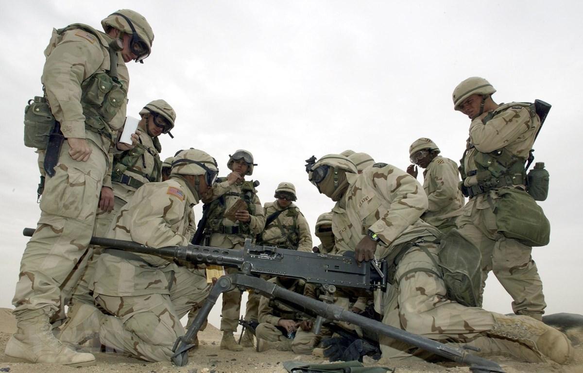 Mỹ điều thêm 1.500 binh sỹ tới Trung Đông trong bối cảnh leo thang căng thẳng với Iran. (Nguồn: AFP/TTXVN)