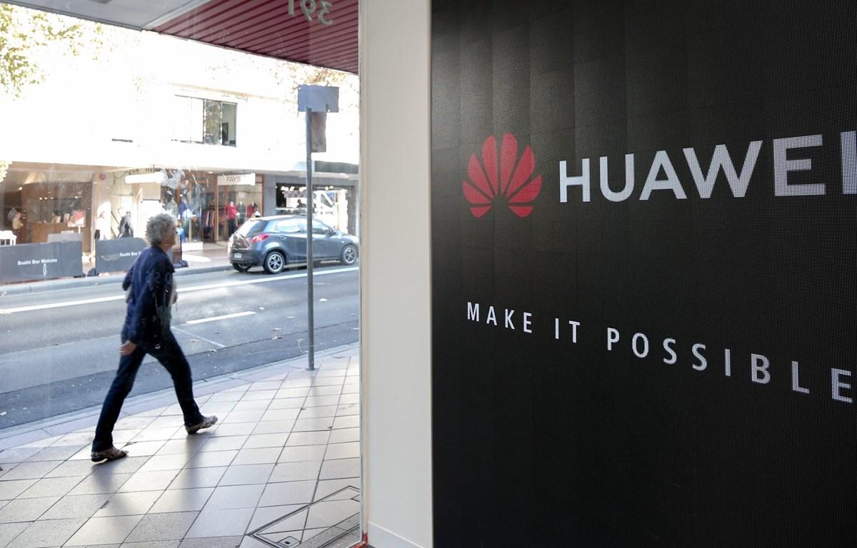 Một cửa hàng của Huawei tại Sydney, Australia, ngày 23/5/2019. (Ảnh: THX/ TTXVN)