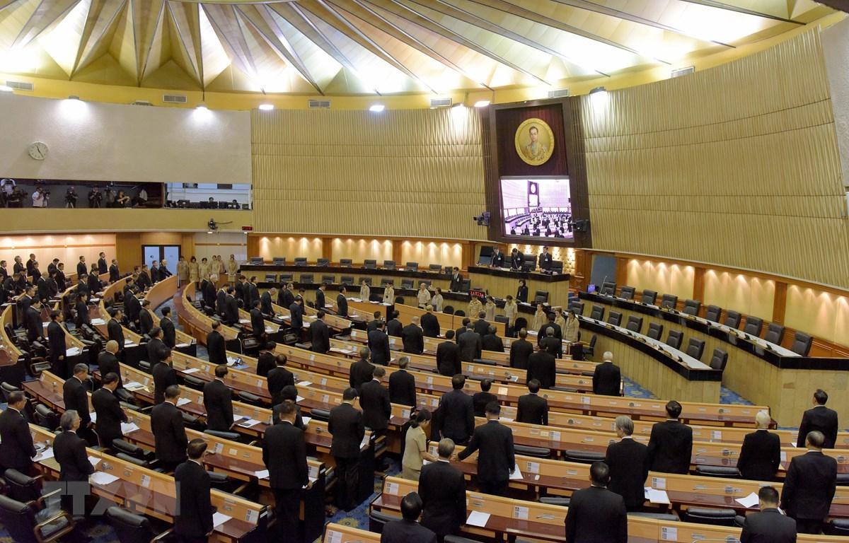 Toàn cảnh một phiên họp Quốc hội Thái Lan ở Bangkok. (Ảnh: AFP/TTXVN)