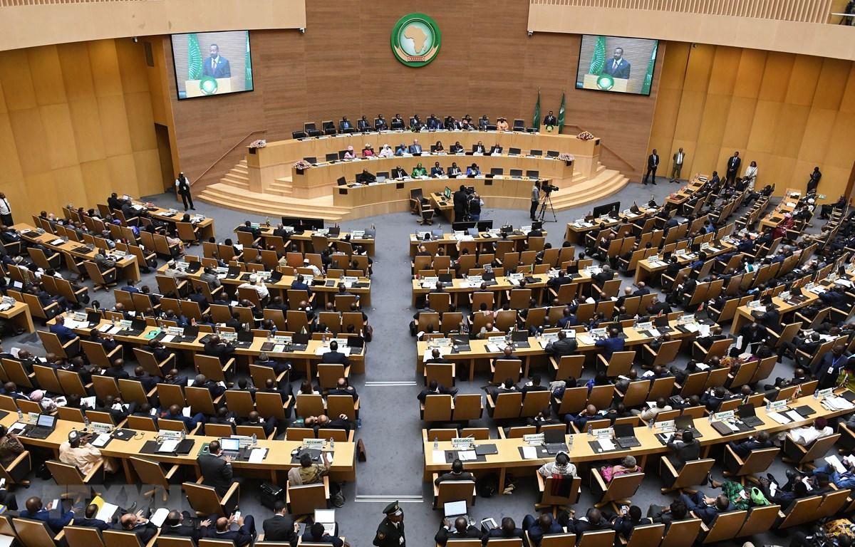 Toàn cảnh một phiên họp Hội đồng Liên minh châu Phi (AU) tại Addis Ababa, Ethiopia, ngày 17/11/2018. (Ảnh: AFP/TTXVN)