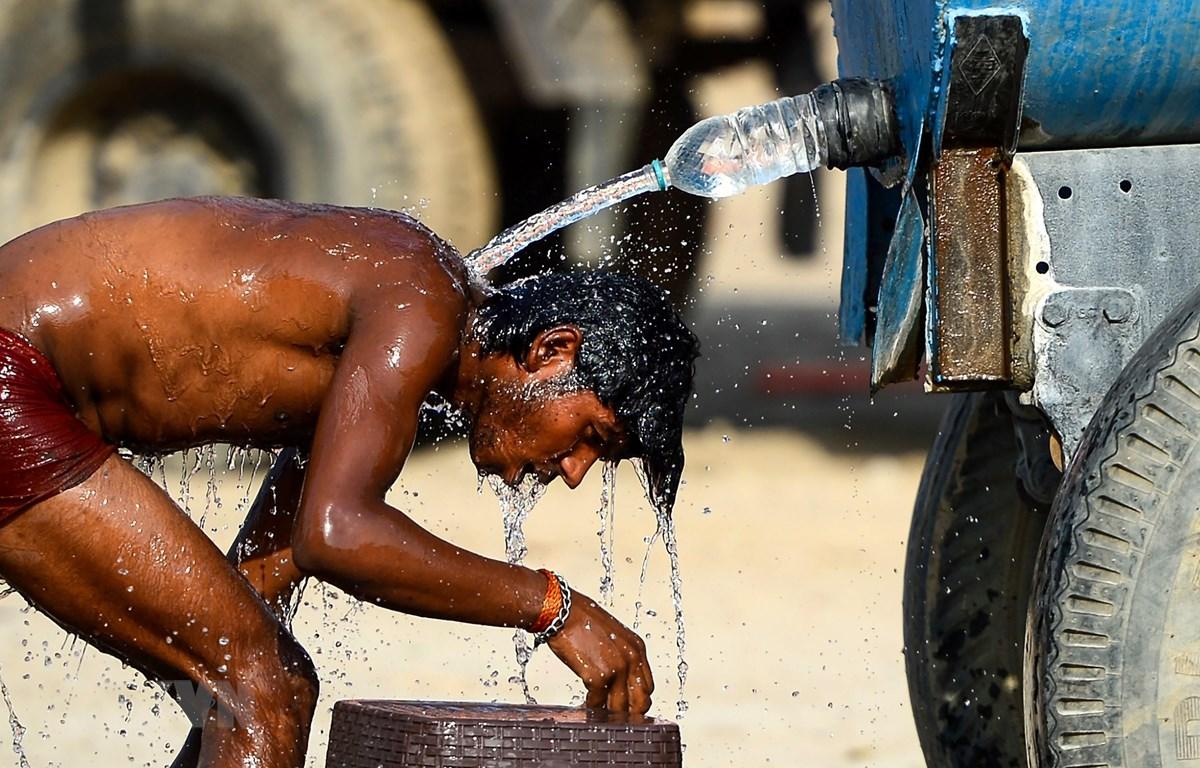 Nắng nóng trên 50 độ C tại Ấn Độ. (Nguồn: AFP/TTXVN)