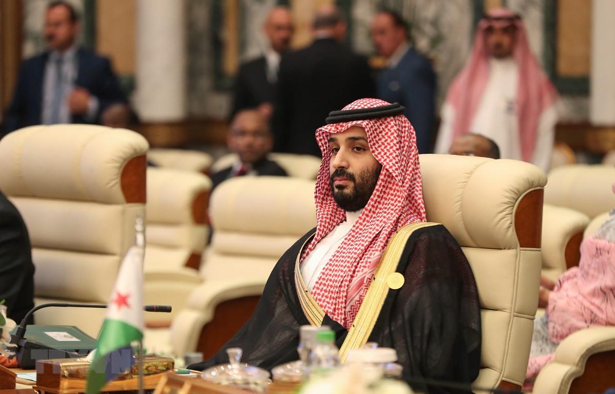 Thái tử Saudi Arabia Mohammed bin Salman dự một hội nghị tại Mecca ngày 31/5/2019. (Ảnh: AFP/TTXVN)