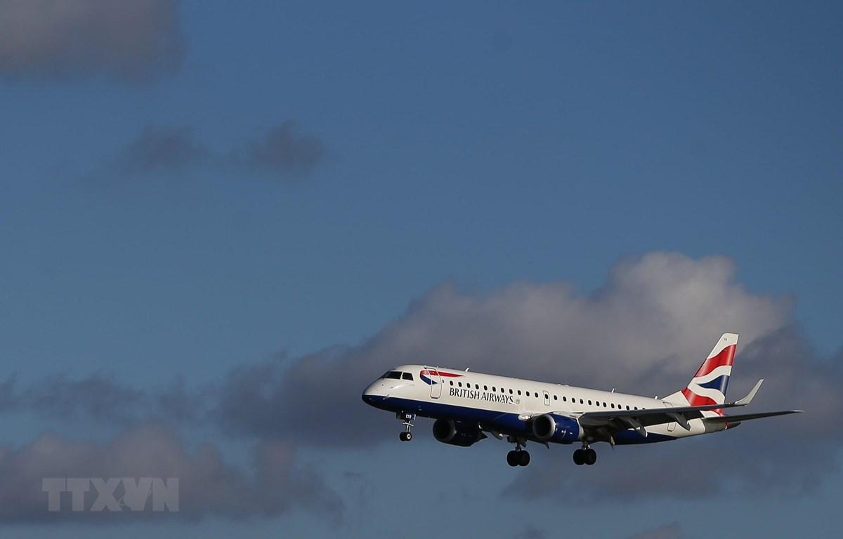 Máy bay của hãng hàng không British Airways. (Ảnh: AFP/TTXVN)