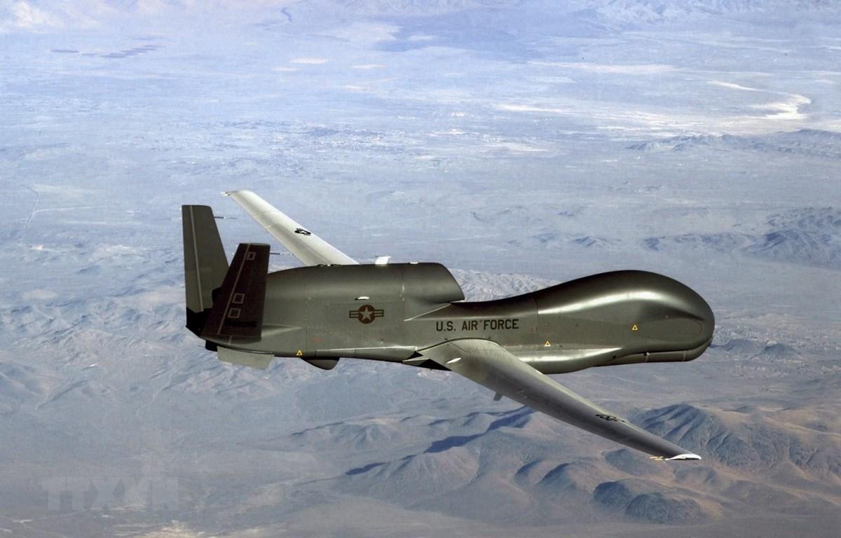 Máy bay do thám không người lái RQ-4A của hải quân Mỹ. (Ảnh: AFP/TTXVN)