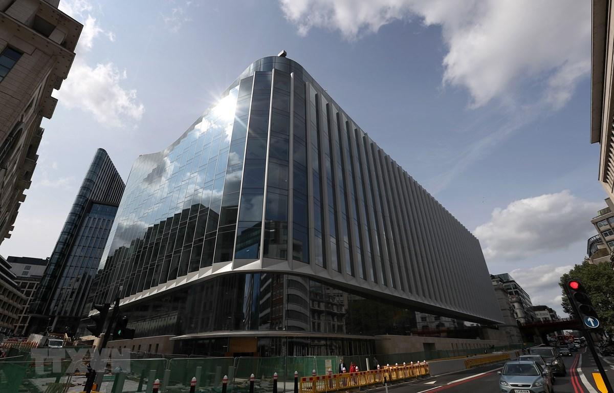 Trụ sở Goldman Sachs tại London, Anh. (Ảnh: AFP/TTXVN)